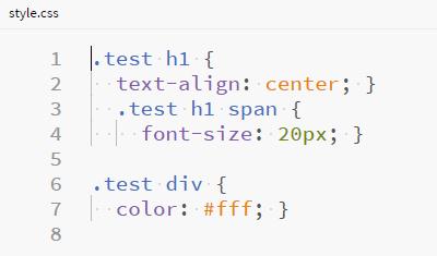 CSSにコンパイル(オプション設定なし)