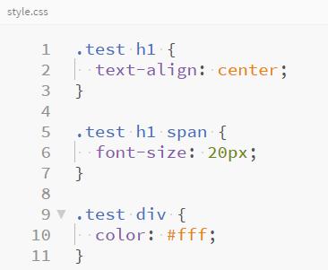 CSSにコンパイル(オプション設定あり)